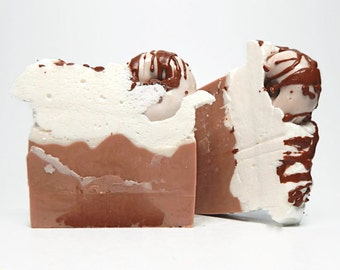 Chocolate Coffee Latte Soap