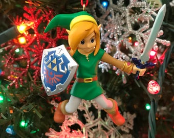 Link from The Legend of Zelda Holiday Christmas Ornament