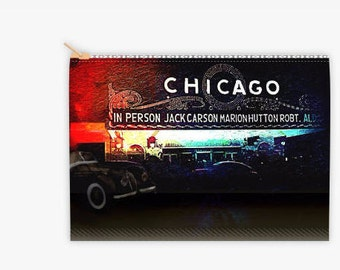 Chicago 8x6 Cosmetic Bag