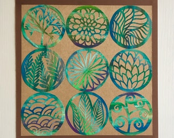 Patterned Paper Cut