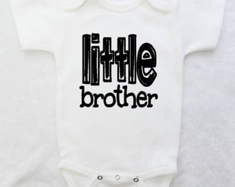 Baby Bodysuit for Little Brother Baby Boy