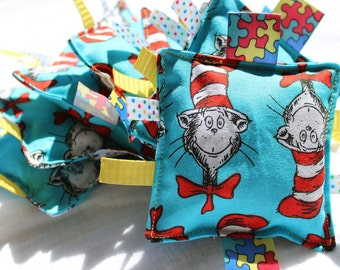 Dr Seuss Cat in the Hat Bean Bags - 3 pack