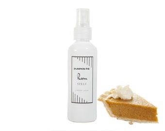 Pumpkin Pie Scented Room Spray, Pumpkin Pie Air Freshener, Vegan Air Freshener, Room Spray, Car Spray, Bakery Room Spray, Pumpkin Pie Scent