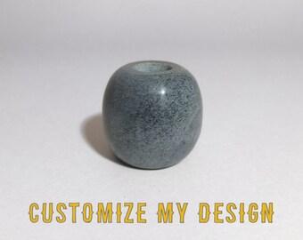 Custom Engraved Beer Stone - Olive - Elevate Your Beer!