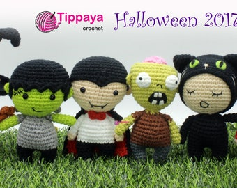 Crochet pattern of Halloween Set 2017
