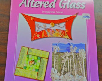 Pattern Books - 3 Stained Glass Pattern Books - Art of Altered Glass - Whimsical Filigree - Fanciful Filigree