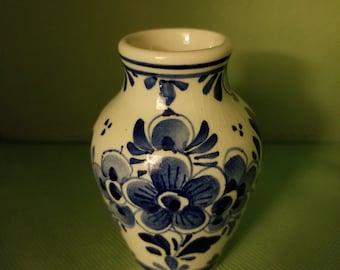 Blue Delft Mini Vase
