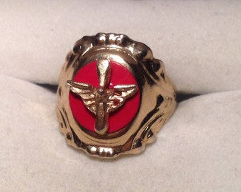 Vintage WWII Airborne Sweetheart Ring