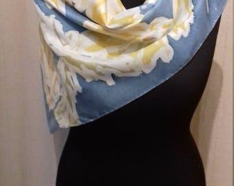 Schaltuch scarf silk scarf hand painted