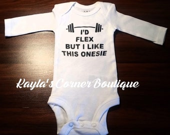 Baby Onesies for Boys, Lift Bodysuit, Gym bodysuit, Workout Baby, Crossfit Baby, Flex Onsie, Babyshower Gift, Boy Bodysuit, Crossfit Bodysui