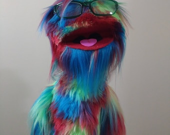 One of a kind Live Hand Monster Puppet