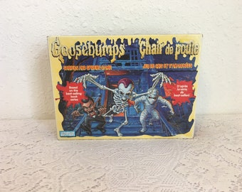 GOOSEBUMPS Shrieks and Spiders, COMPLETE, vintage board game
