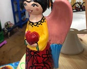 Custom Angel Statue - Red...