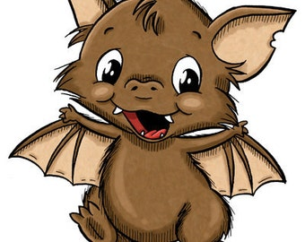 Marvin the Bat (DIGI STAMP)