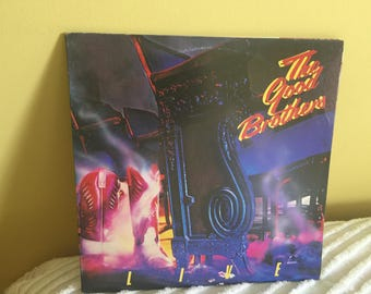 Good Brothers Live Double Record Album Vinyl NEAR MINT CONDITION