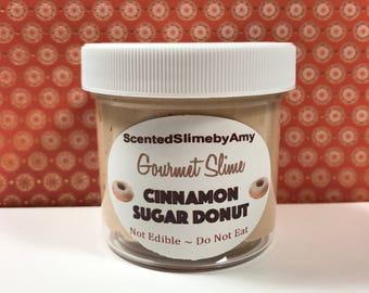 Cinnamon Sugar Donut Clay Slime