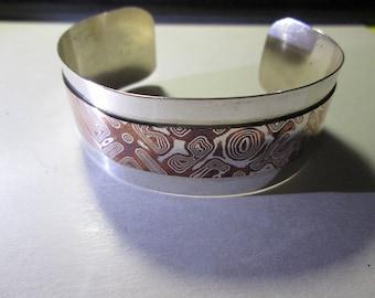 Mokume Gane bracelet by TonyL