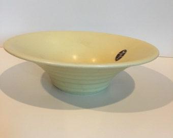 Vintage Hyalyn pottery bowl