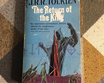 Vintage Rare 1965 The Return Of The King J. R. R. Tolkien paperback