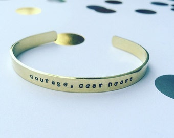 Courage, Dear Heart / Chronicles of Narnia / CS Lewis / Aslan