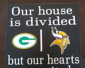Personalized House Divided Sign