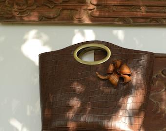 Handmade leather bag - Comfort bag