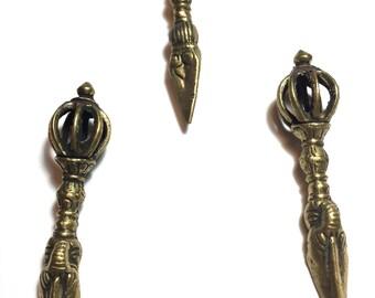 Brass Tibetan Kila Pendant. Tibetan. Kila. Pendant. Brass