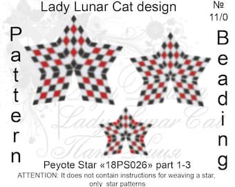 Chess peyote patterns, Abstraction peyote, Meditation peyote, Stars Peyote pattern, Mandala peyote, Peyote stitch, Beading patterns