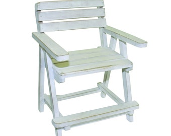 Miniature Adirondack Lifeguard Chair