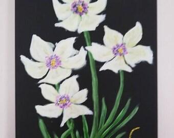 Original Art- Flowers in Bloom