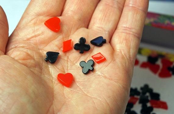 Poker Symbols Diy Playing Cards Signs Resin Poker Symbols In Gift