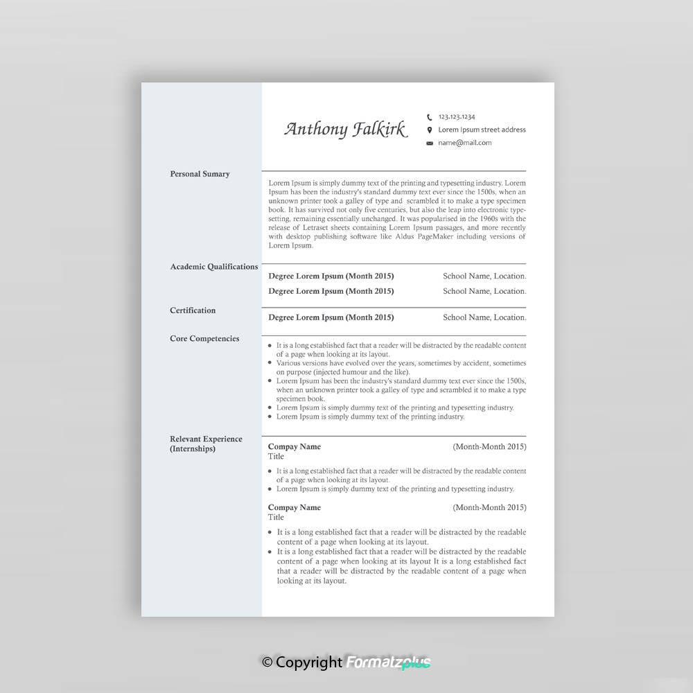 2 Seite kreative Lebenslauf Vorlage Moderne Lebenslauf