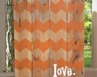 Chevron Love Sign