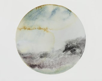 Luna Moss - Watercolour artwork - Print