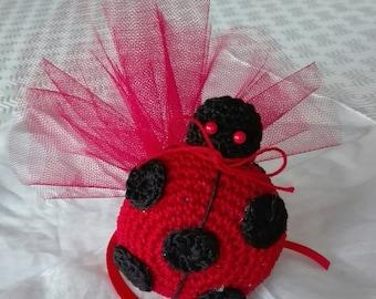 Ladybird Graduation Favor