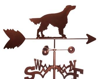 Hand Made Irish Setter Dog Weathervane NEW