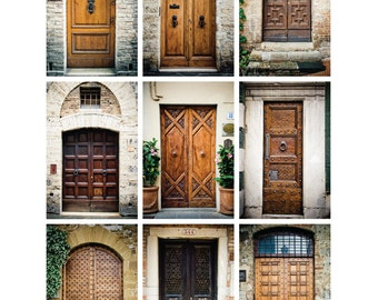 Doors of Europe (Neutrals): 8x10 Digital Download
