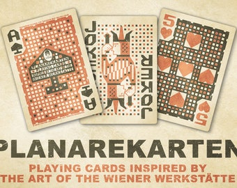 "PLANAREKARTEN Playing Cards, ""KOOK"" Edition, 300 gsm Premium ""Smooth"" Casino Playing Cardstock"