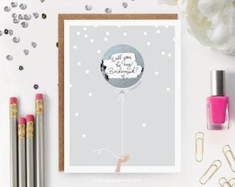 """Scratch-off """"Be My Bridesmaid?"""" Card // Ask Bridesmaids, Maid of Honor Card, Bridesmaid Proposal, Bridesmaid Box, be my BM // Silver Balloon"""