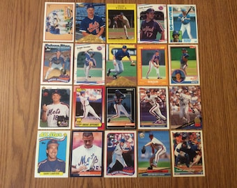 100 New York Mets Baseball Cards