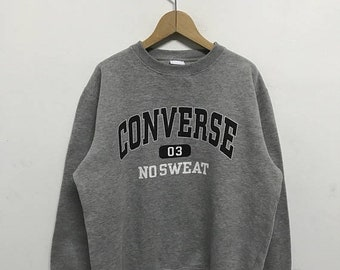 20% OFF Vintage Converse Embroidery Big Logo Sweatshirt/Converse Usa/Converse Sweater/Converse Spell Out Lc5avp