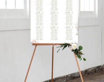 Seating Chart - Dreamy Garden (Style 13830)