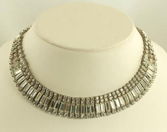 Rhinestone Glam Necklace