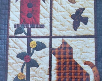 APPLIQUE PATTERNS, Bowsers and Meowsers, Mumm's the Word, Debbie Mumm, Dogs, Cats, Faithful Companions, Quilts to Pillows to Treat Boxes.