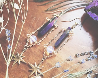 Shooting Star Aura Earrings