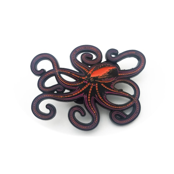 Robot Octopus Pin