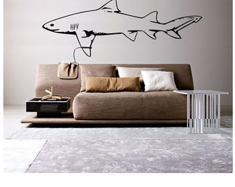 Great White Shark Wall Decal