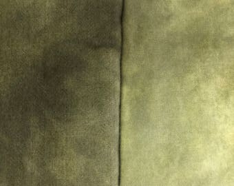 Vintage Ochre - hand dyed rug hooking wool fabric -  1/4 yard dyed on Oatmeal or Natural Wool