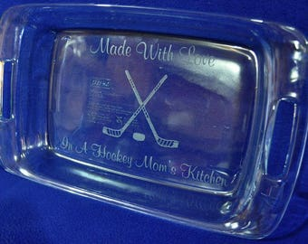 Gifts For Mom ~ Hockey Mom Gift ~ Hockey Gift ~ Gift For Friend ~ Engraved Gift ~ Favorite Sport Gift ~ Gift For Sports Lover ~ Custom Gifts