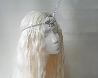 Diamond dust unicorn horn tiara
